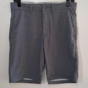 Old Navy Men's Gray Hybrid Shorts Size 29